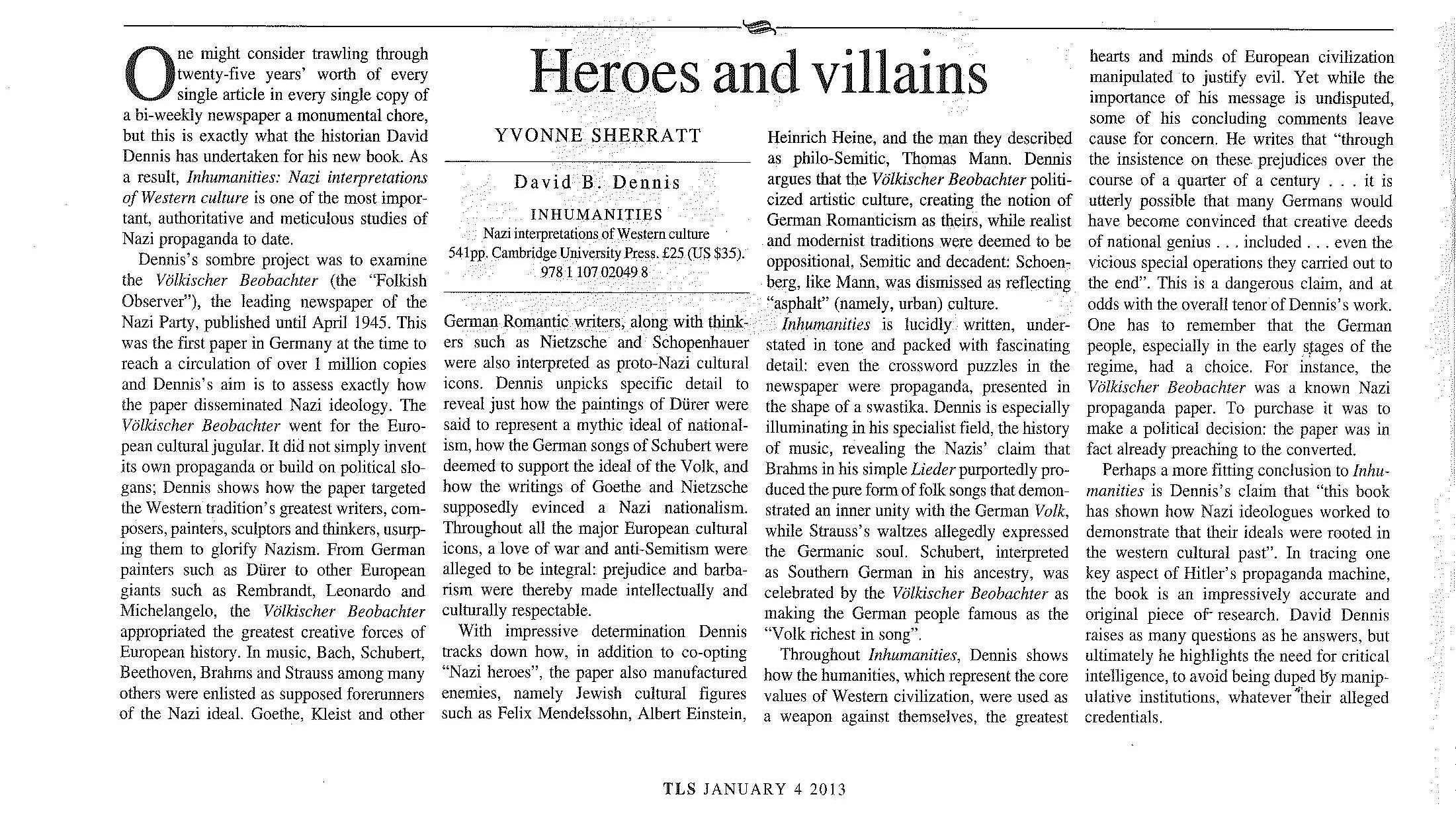 Inhumanities Review in the TLS (2012-01-04)-scanned from paper